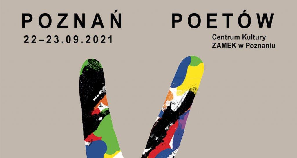 Plakat wydarzenia Poznań Poetów.