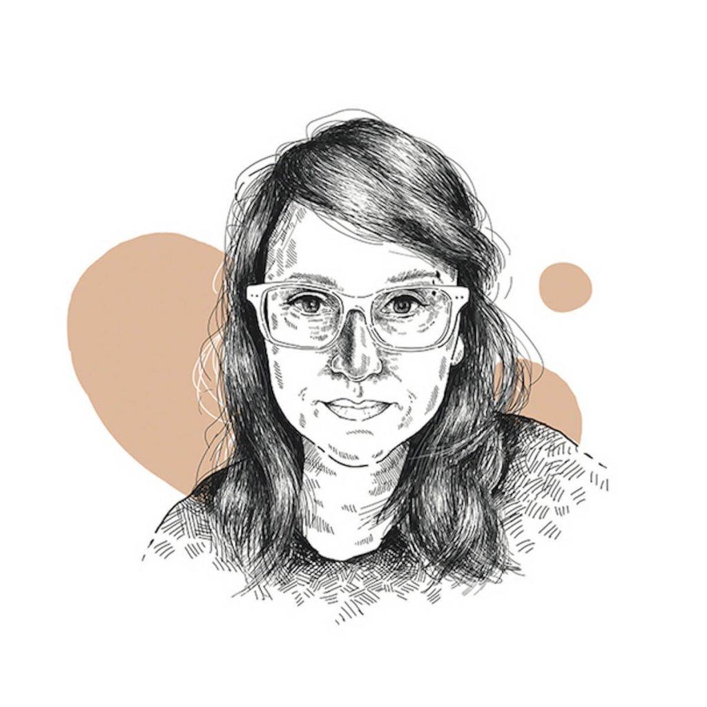 Portret redaktorki naczelnej Pisma, Magdaleny Kicińskiej