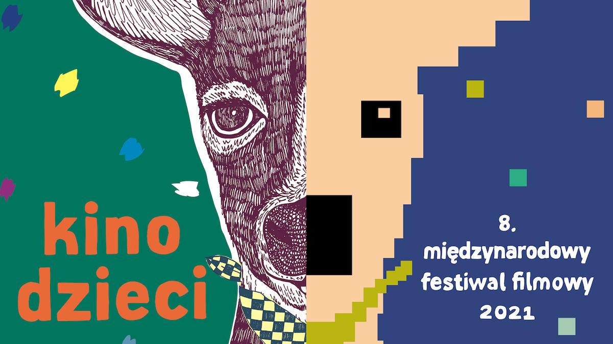 Plakat kina dzieci, międzynarodowego festiwalu filmowego.