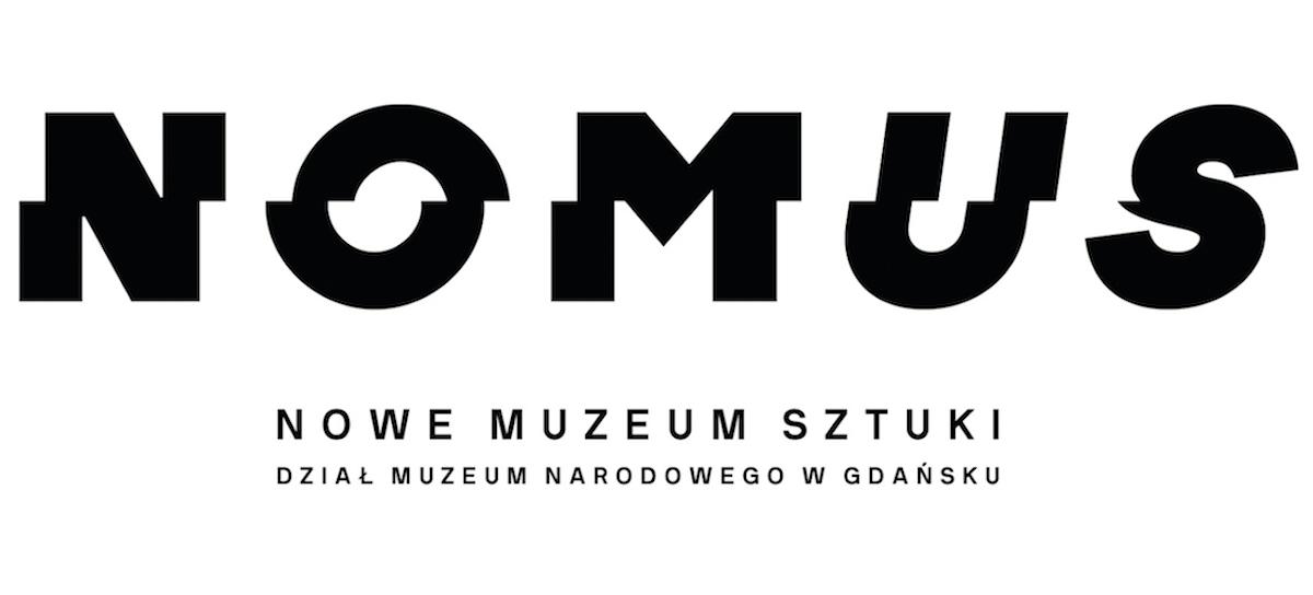 Plakat Noumus – nowego muzeum sztuki w Gdańsku.